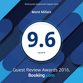 Booking.com 2016 Award badge