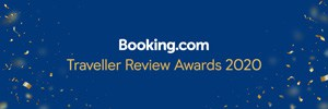 Booking.com 2020 Traveller Review Awards badge