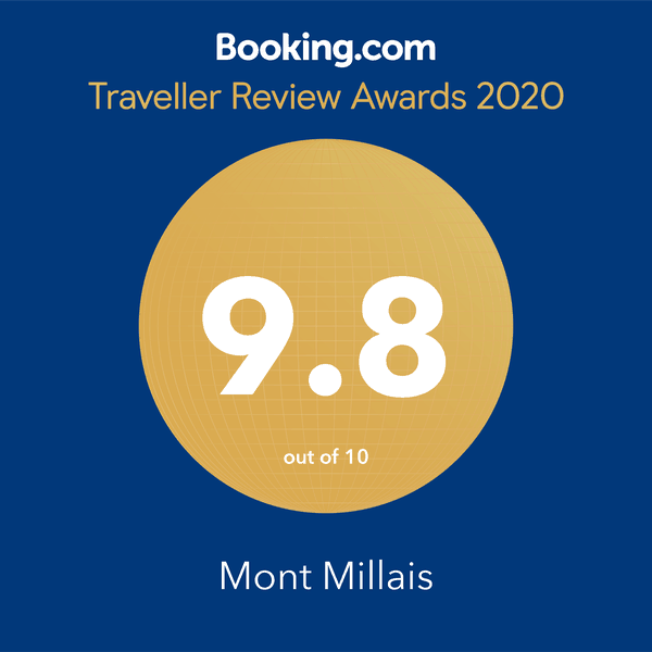 Booking.com 2019 Award badge